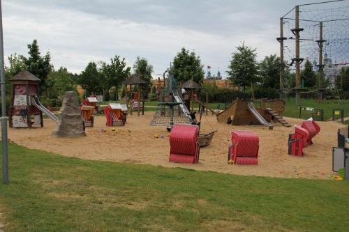 Legoland-Feriendorf-Südsee-Spielplatz