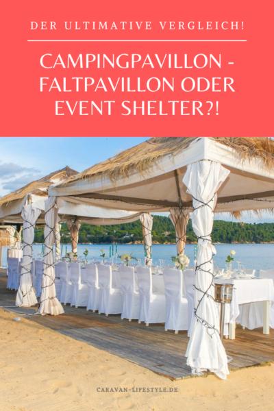 Campingpavillon oder Event Shelter