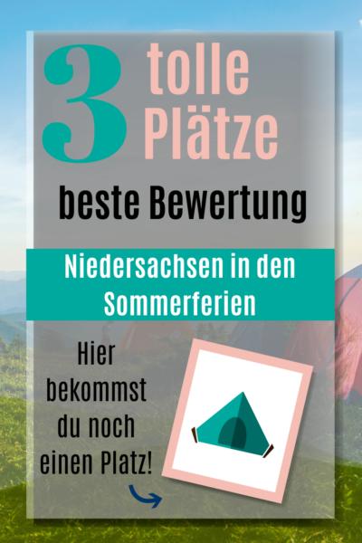 Campingplatz in Niedersachsen mit Restplätzen