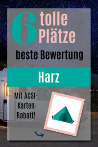 Campingplätze im Harz(1)